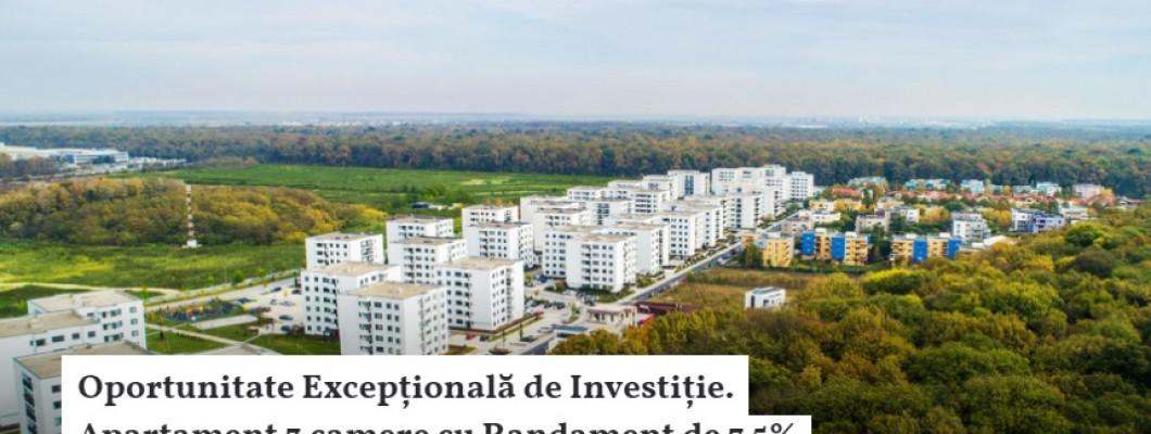 Merită să investești într-un apartament ce îți va aduce 7.5% YIELD?
