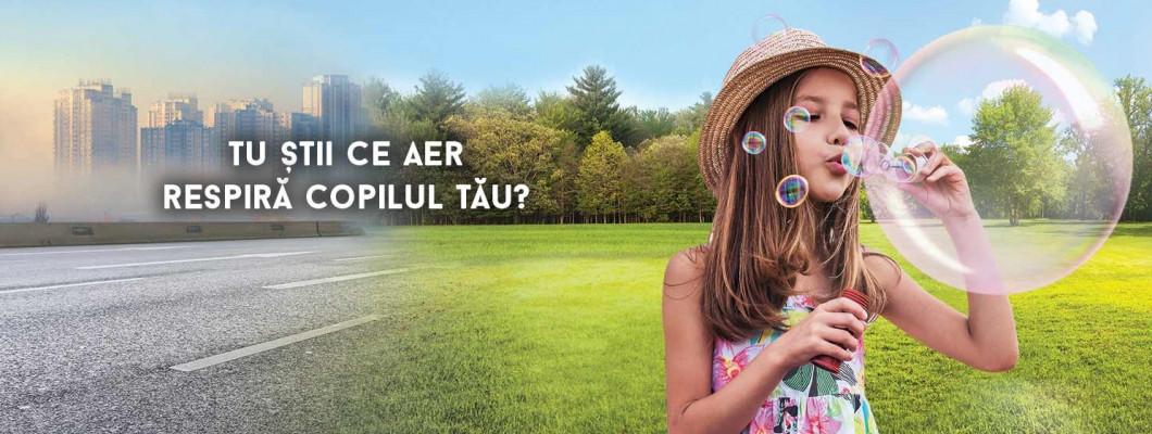 Tu știi ce aer respiri? Află efectele aerului poluat asupra sănătății!