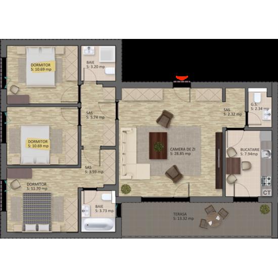 4 Camere, 124mp